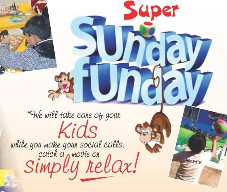 sunday funday a day of fun, masti, dance, games, movie, snacks